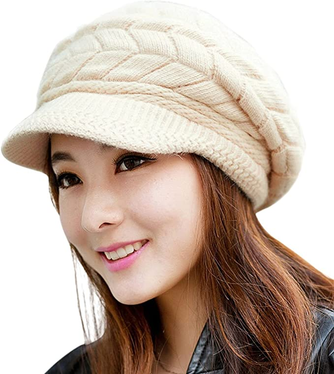 WOMEN'S SLOUCHY WARM KNITTED HAT! (6 COLORS)
