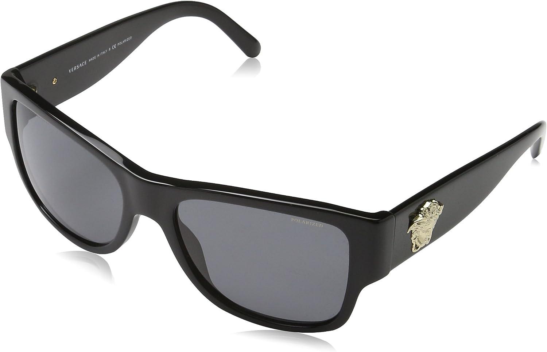 Versace 0Ve4275 Gafas de sol, Black, 58 para Hombre