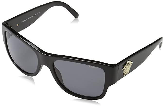 Versace 0Ve4275 Gafas de sol, Black, 58 para Hombre: Amazon ...