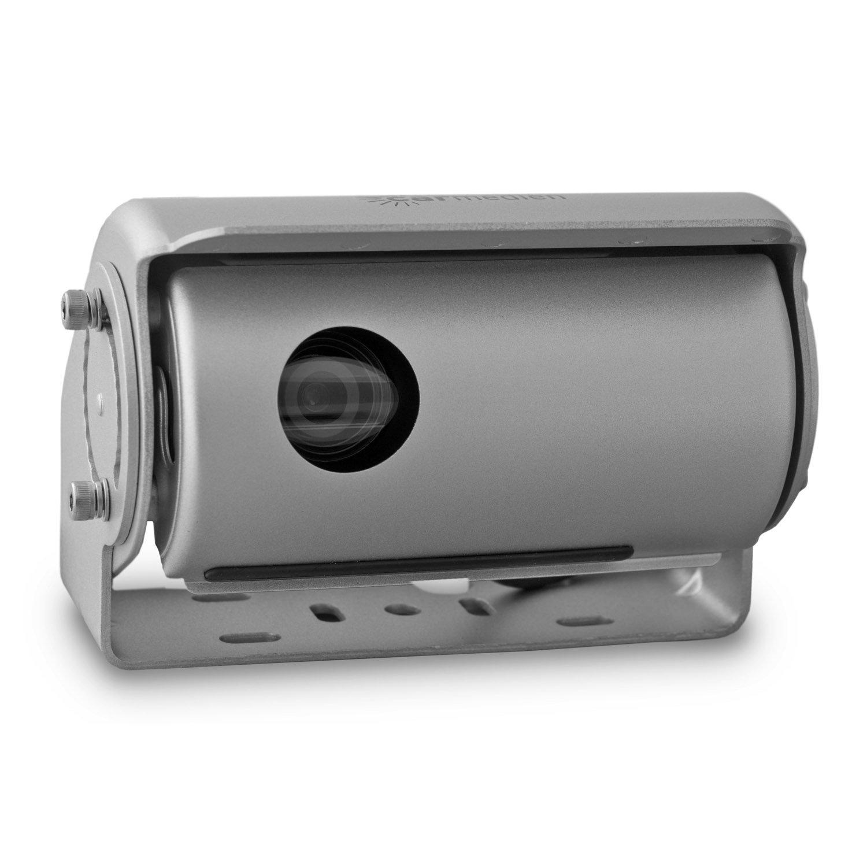 Carmedien CM-DSKRFS2 12V 24V Premium Sistema de inversión con cámara trasera con doble obturador, limpiaparabrisas y solapa protectora contra la suciedad: ...