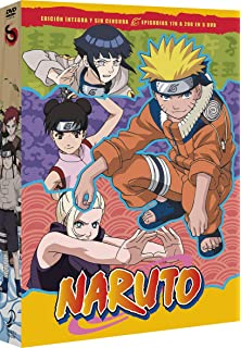 Naruto Box 1 Episodes 1 To 25 [DVD]: Amazon.es: Animación ...