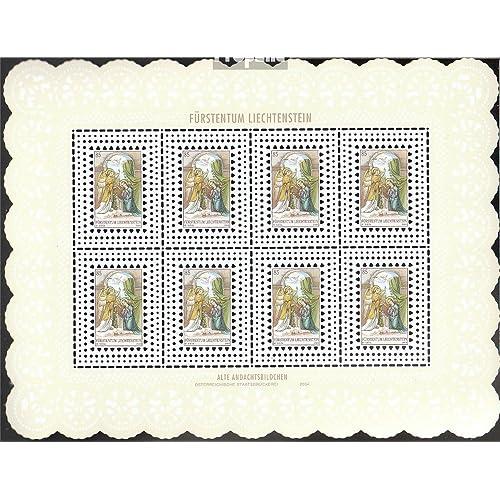 Liechtenstein 1361Klb-1363Klb Feuille miniature (complète.Edition.) 2004 Noël (Timbres pour les collectionneurs)