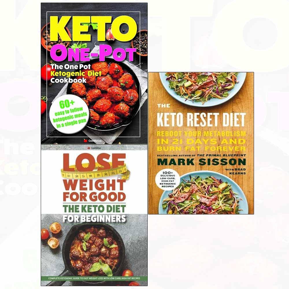 keto reset diet book abebooks
