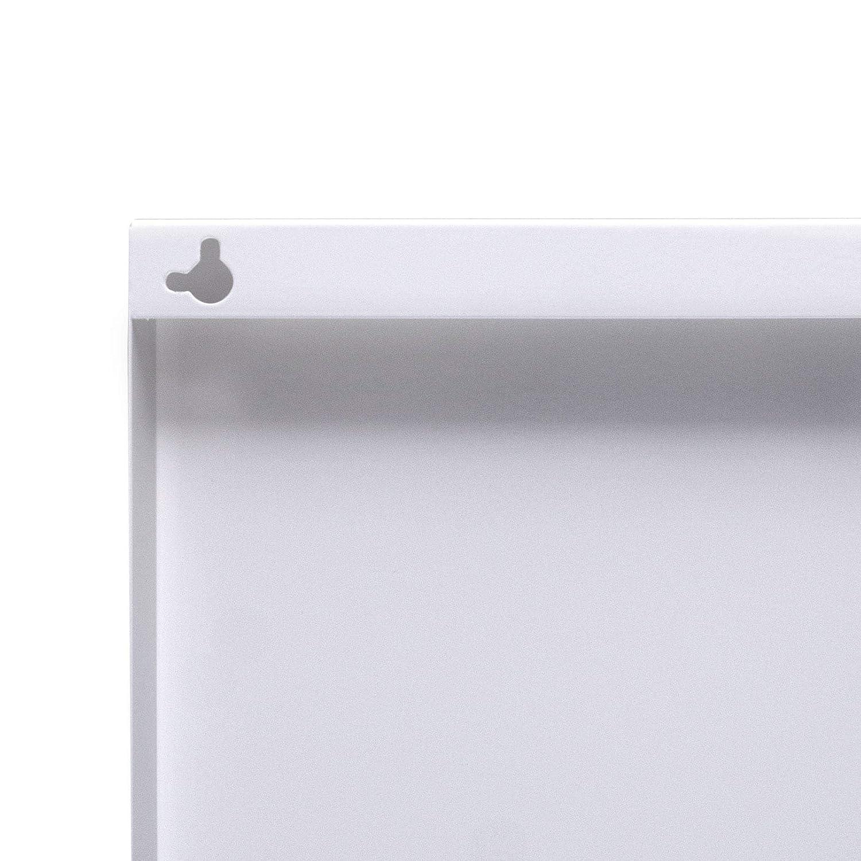 Magnetboard mit Motiv Skyline Manhattan Memoboard mit Magneten Magnetwand f/ür K/üche B/üro oder Kinderzimmer Metall Pinnwand magnetisch banjado Design Magnettafel 75x30cm gro/ß