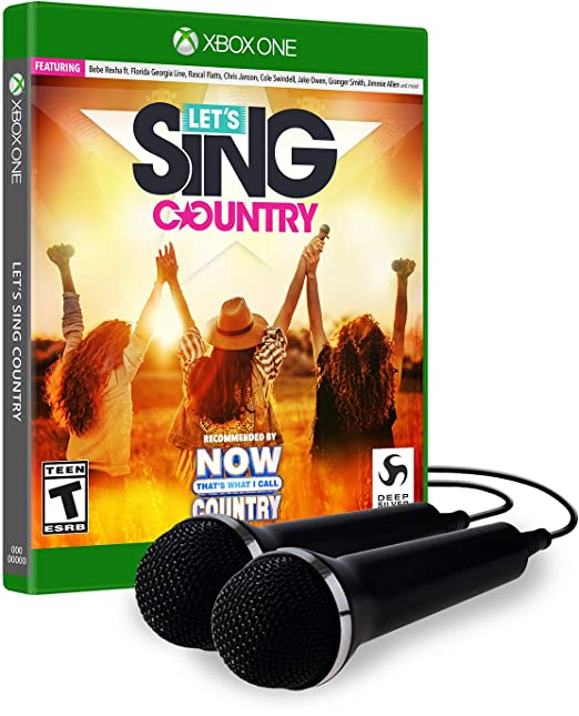 Lets Sing Country - 2 Mic Bundle for Xbox One [USA]: Amazon.es ...