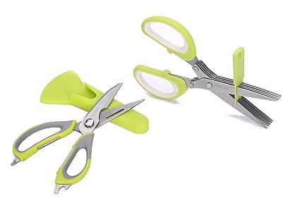 Compra Take Apart Multi Función tijeras de cocina y 5 hoja hierba ...