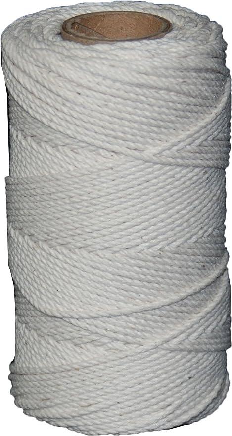 T.W Evans Cordage 03-249 Number-24 Cotton Seine Mason Line with 600-Feet Ball