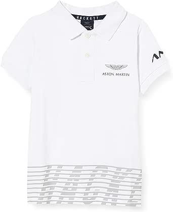 Hackett London Amr Solid SS B Camisa Polo para Niños