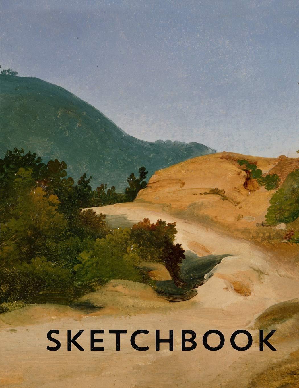 Amazon Com Sketchbook Roman Campagna Italian Landscape 8 5 X 11