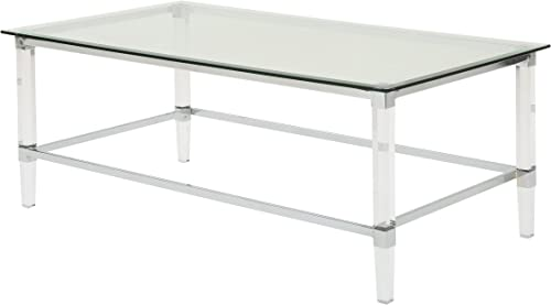Christopher Knight Home Bayla Modern Tempered Glass Rectangular Coffee Table