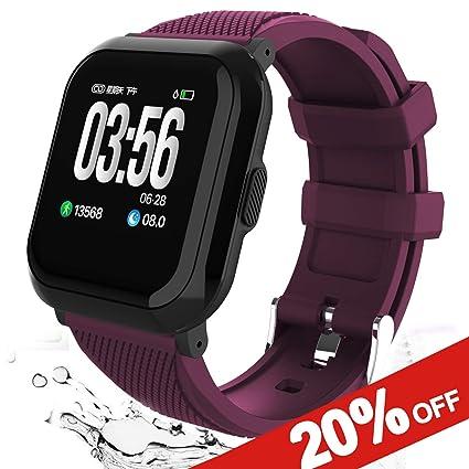 Amazon.com: Smart Watch Fitness Tracker,Smartwatch with All ...