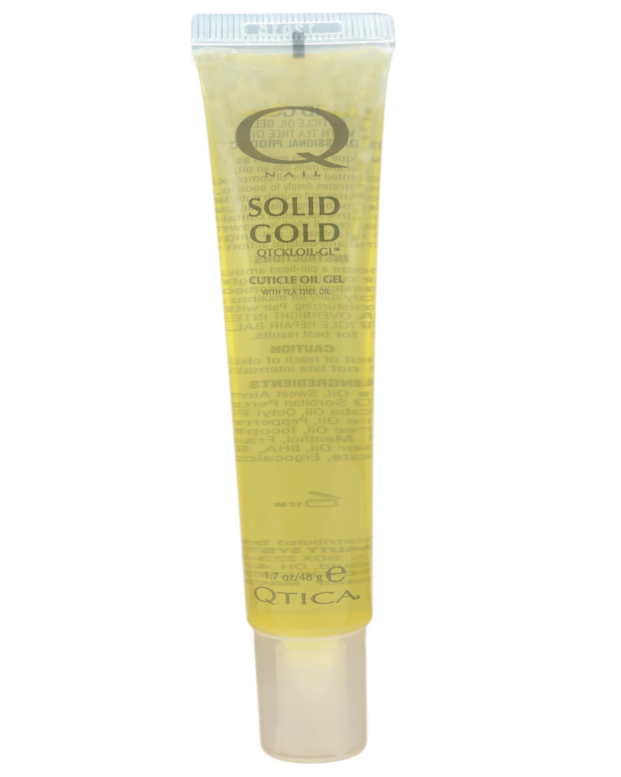 QTICA Solid Gold Anti-Bacterial Oil Gel - 1.7oz