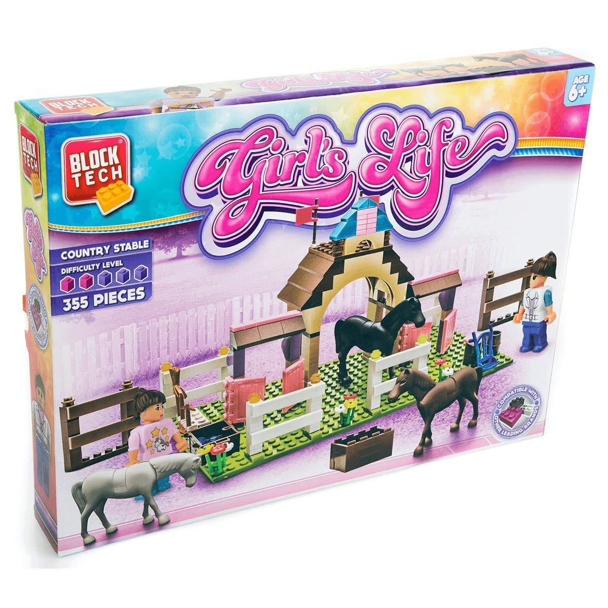 Block Tech Girls Life Amazoncouk Toys Games
