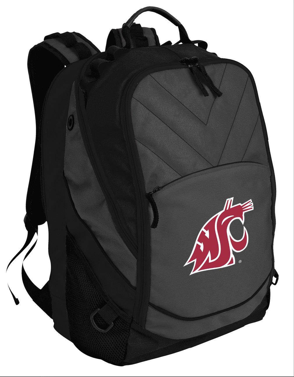 Broad Bay Best Washington State University Backpack Laptop Computer Bag