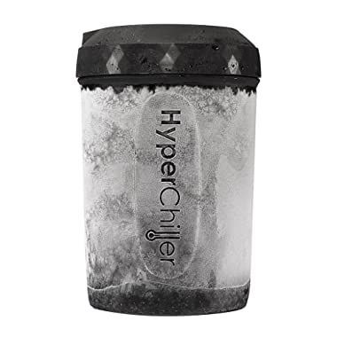 HyperChiller Patented Beverage Cooler – Ready in One Minute – Reusable for Iced Coffee/Tea, Wine Spirits, Alcohol, Juice, Hc2