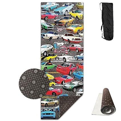 Amazon.com : QNKUqz Athletic Sports Deluxe Yoga Mat Aerobic ...