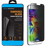 Alltech Devices, Made for Samsung Galaxy S5, Privacy Anti-Spy Tempered Glass Screen Protector Shield, Retail Box