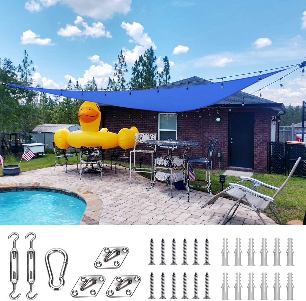Quictent 185G HDPE Triangle Sun Shade 98% T Cheap mail order sales sold out Canopy Sail Block UV