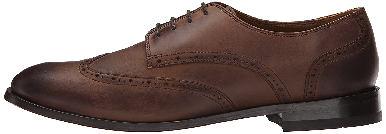 Amazon.com | Bostonian Men's Vesey Free Oxford, Brown Leather, 8 M US |  Oxfords