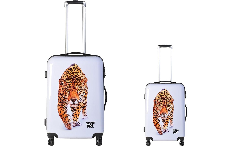 JUNGLE ART Jungle Art Leopard - Juego de maletas adultos ...