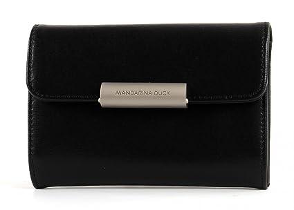 Mandarina Duck monedero, negro (Negro) - 15111PA8651: Amazon ...