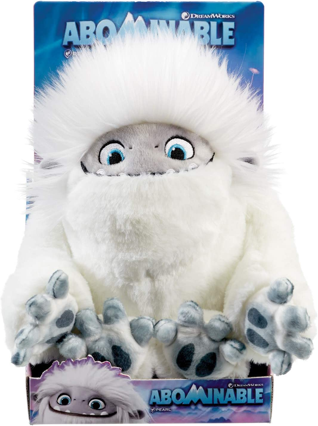 Rainbow DreamWorks Abominable Everest Stofftier im Geschenkkarton 25cm