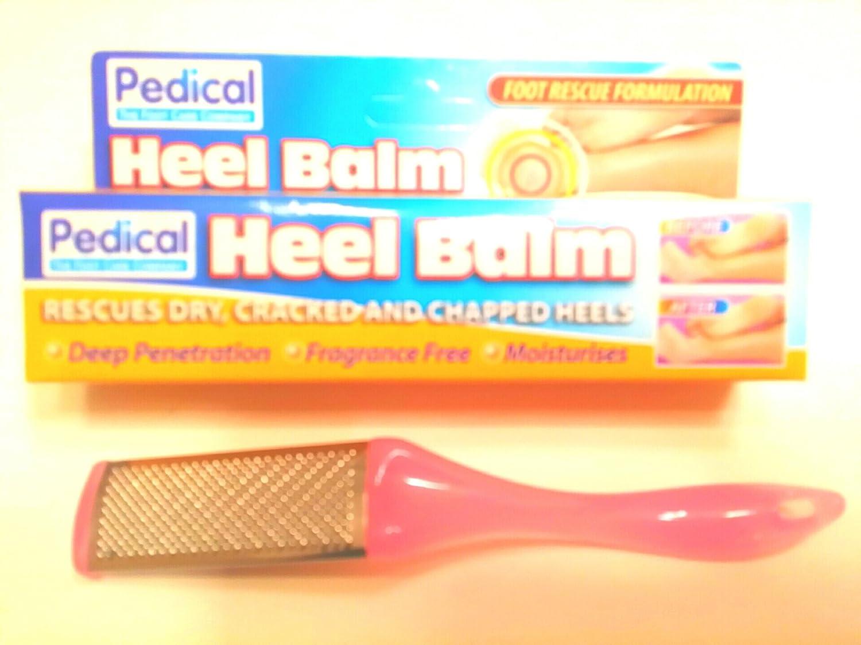 Pedicure Foot File Callus Remover Rasp Bonus Foot Cream