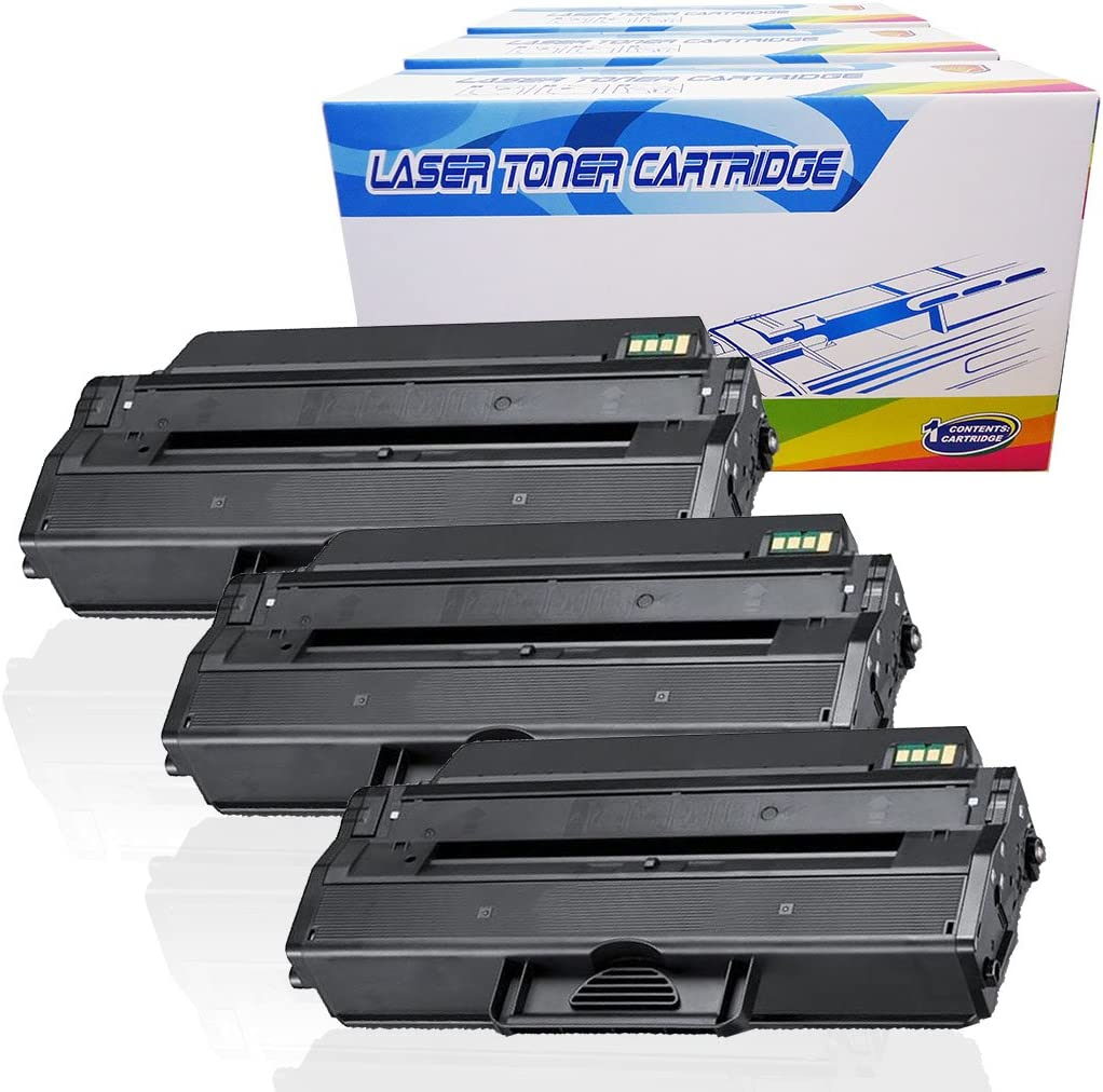 Inktoneram Compatible Toner Cartridges Replacement for Dell B1260dn B1265dnf 331-7328 (Black, 3-Pack)