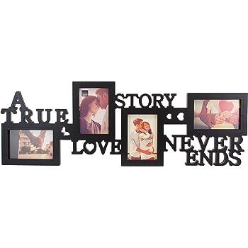 Amazon.com - Mr & Mrs Always & Forever 4x6 Photo Frame 22 x 13 Wood ...