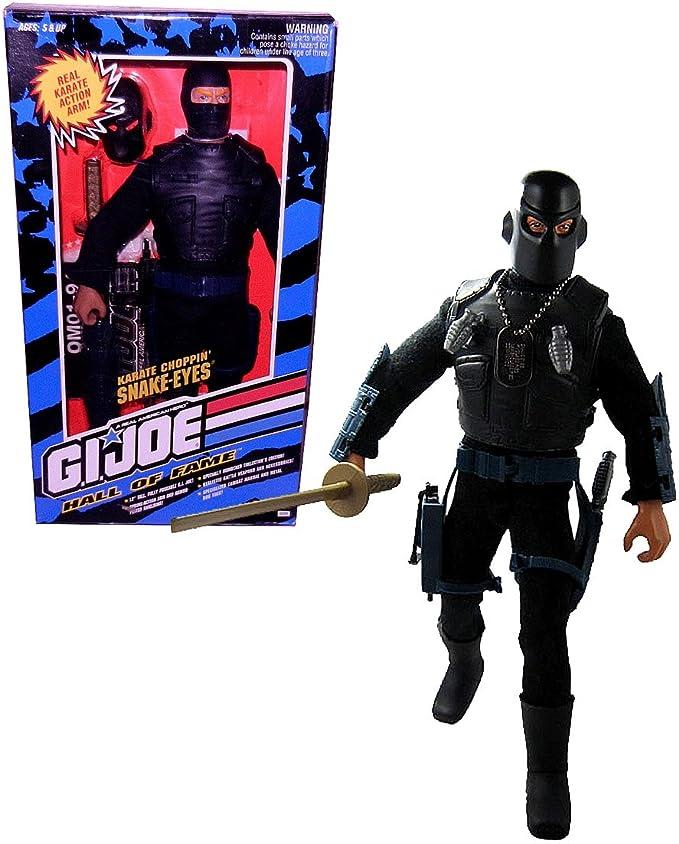 "GI Joe Hall of Fame 12/"" Black Goggles w Clear Lens Accessory Weapon"
