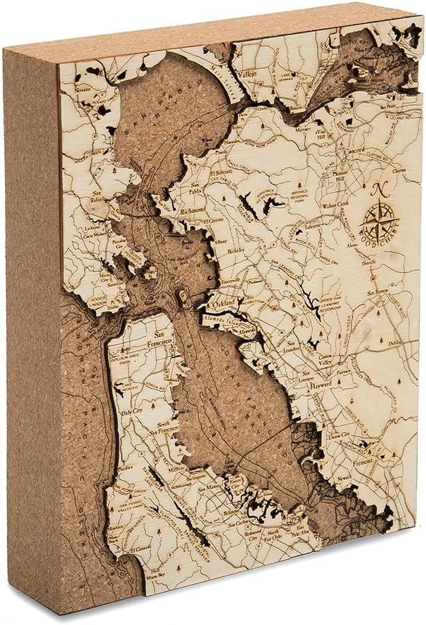 San Francisco Cork Map