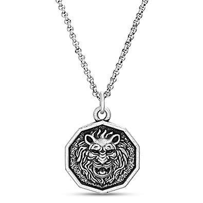 Amazon.com: Steve Madden - Collar con cadena de acero ...