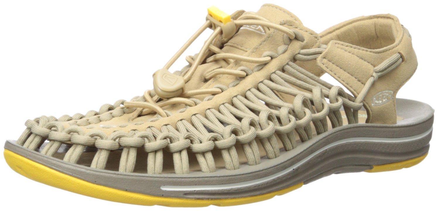 KEEN Women's Uneek 8MM Sandal B019HDPZ28 5.5 B(M) US|Cornstalk/Mimosa