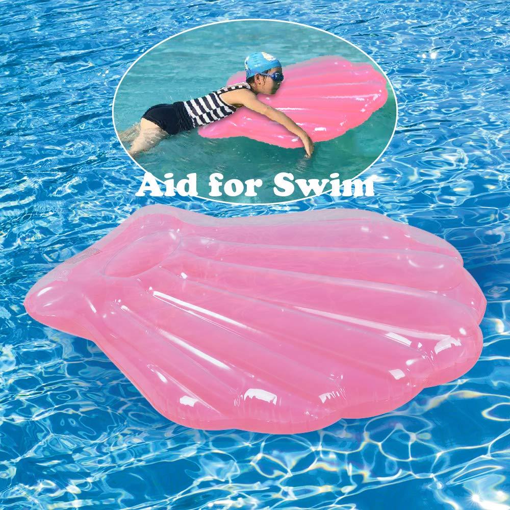 Amazon.com: Seashell Flotador de piscina 2 unidades ...