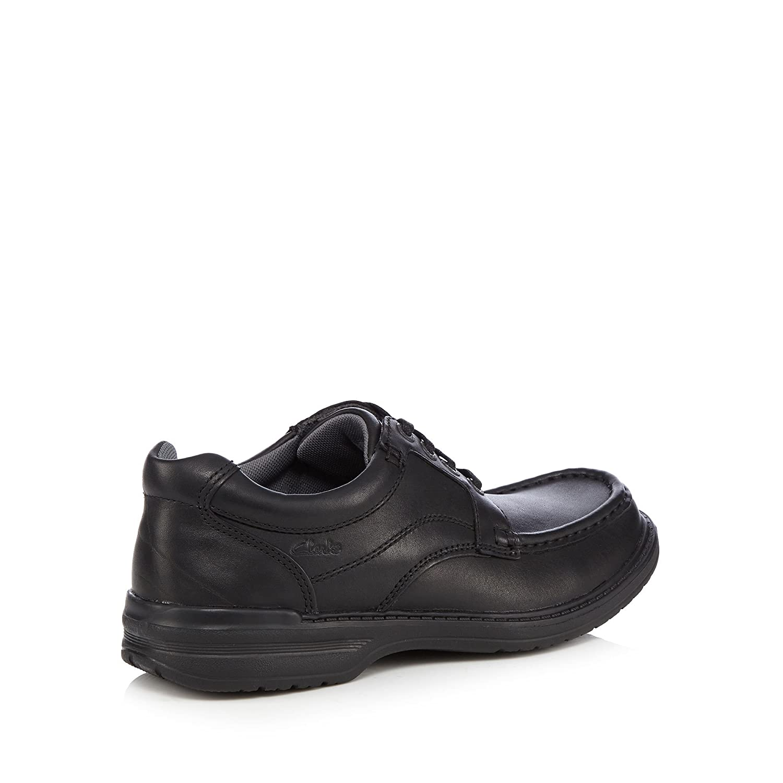 Clarks Kids Black Leather  Keeler  Lace Up Shoes 6  Amazon.co.uk  Shoes    Bags e1c93eab3167