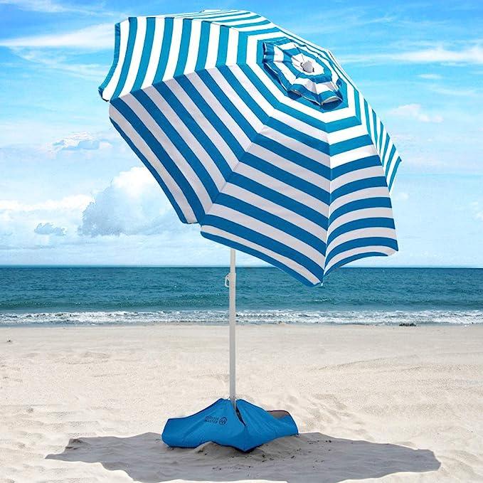 Xbrella Beach Umbrella; Courtesy of Amazon