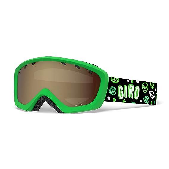 3078a6c8bb9 Amazon.com   Giro Chico Kids Snow Goggles Alien - Amber Rose   Sports    Outdoors
