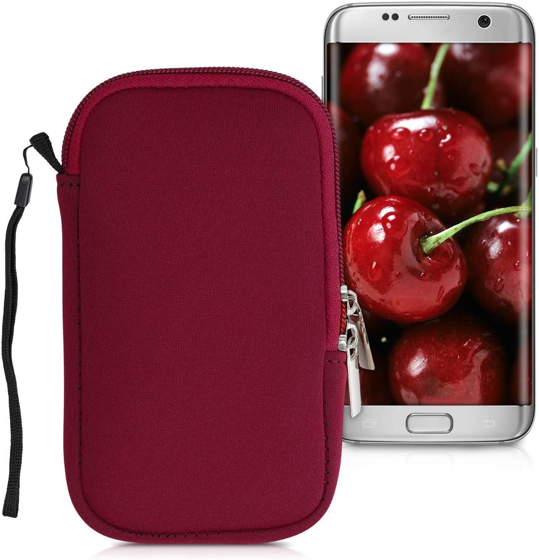 Kwmobile Handytasche Für Smartphones S 4 5 Neopren Elektronik