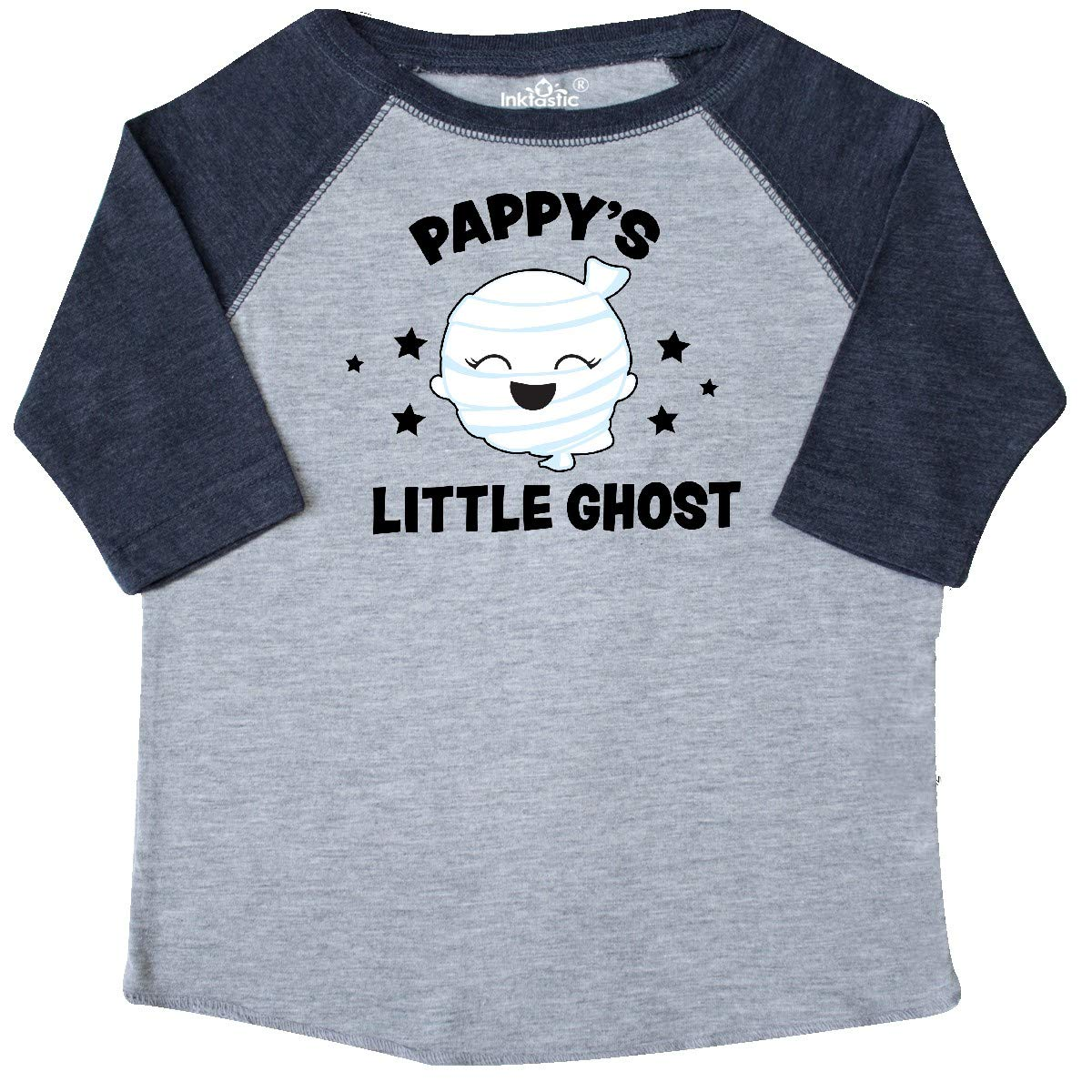 inktastic Cute Pappys Little Ghost with Stars Toddler T-Shirt