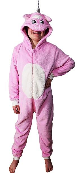 8083304223f2 Wunsy Childrens Boys and Girls Hood Onesie Fluffy Fleece Chicken CAT ...
