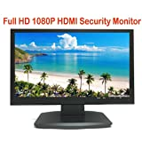 """101AV Security Monitor 19.5"""" 21.5"""" True Full HD monitor 1920 x 1080 HDMI VGA and Looping BNC outputs LED Wide Screen Audio Video Display Built-in Speaker for DVR Home Office Surveillance System"""
