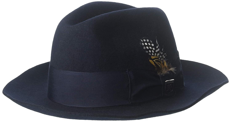 Amazon.com  Stacy Adams SAW536 Mens Sa Cannery Row Wool Hat Hats ... 3256780fb4f