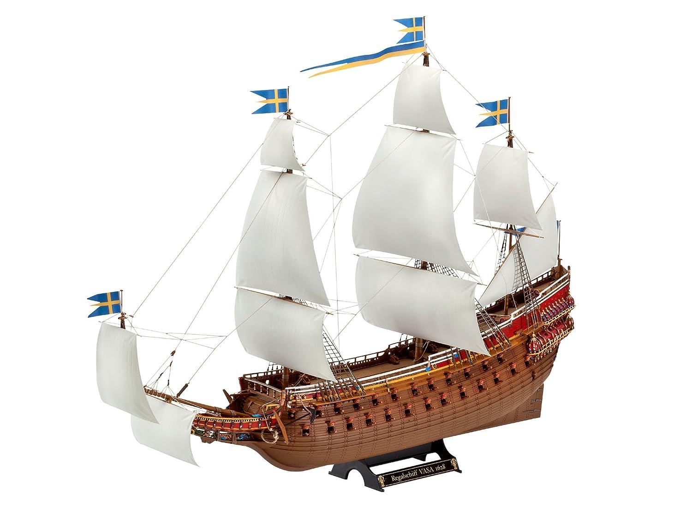 Amazon | ドイツレベル 1/150 帆船 VASA R05414 プラモデル ...