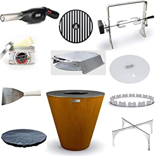 "product image for ARTEFLAME One 40"" Grill and Home Chef Max Bundle with 10 Grilling Accessories."