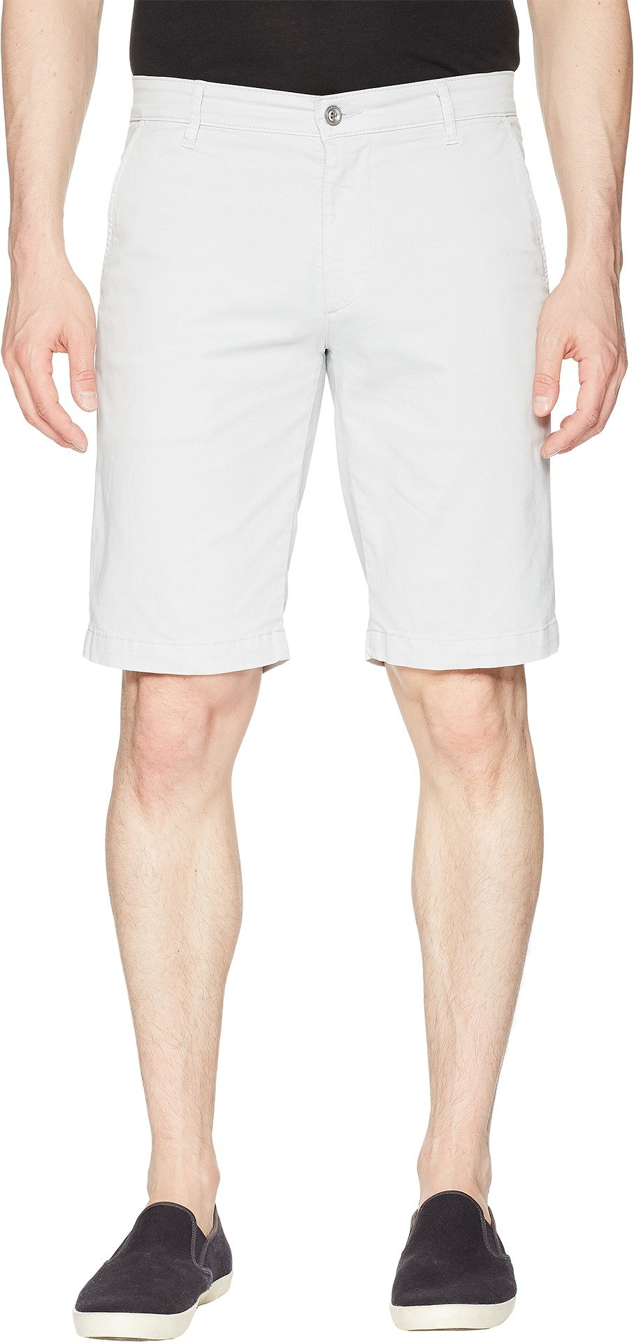 AG Adriano Goldschmied Men's Griffin Shorts in Pale Cinder Pale Cinder 36 11