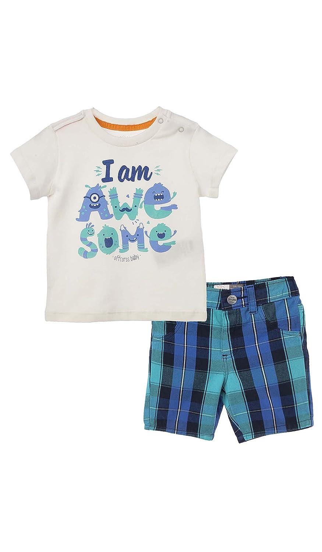 OFFCORSS Baby Boys Outfits Set T-Shirt Shorts Conjuntos Ropa Bebe Varon Niño