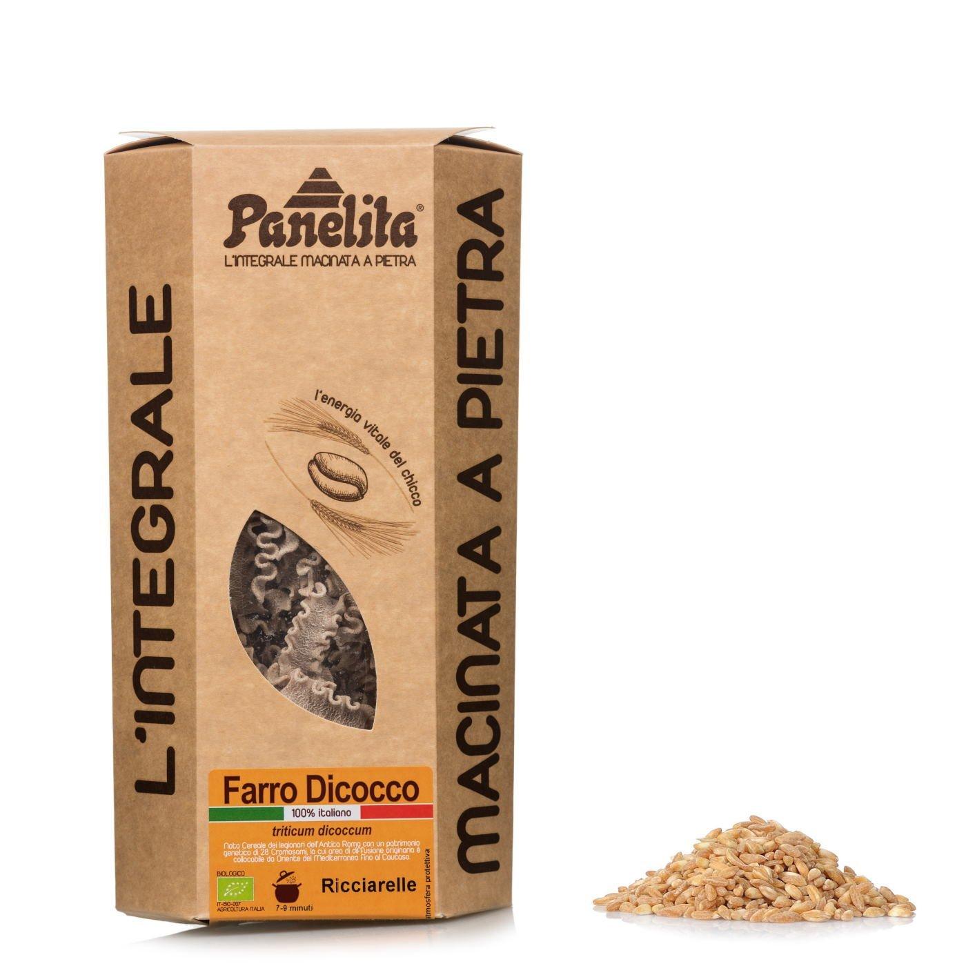 Ricciarelle de harina integral de espelta 250 g BIO: Amazon.es: Alimentación y bebidas
