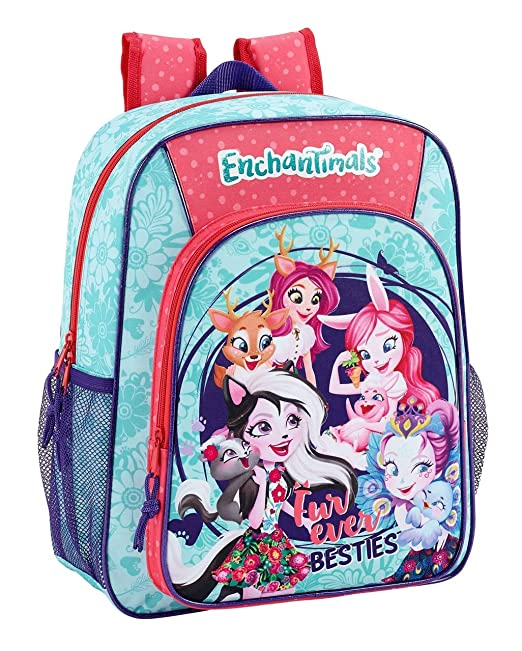 Enchantimals Oficial Mochila Escolar Junior 320x120x380mm: Amazon.es: Ropa y accesorios