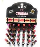 ADS Best Ads Waterproof 24 Multi-Color Lipstick Set For Women And Girls