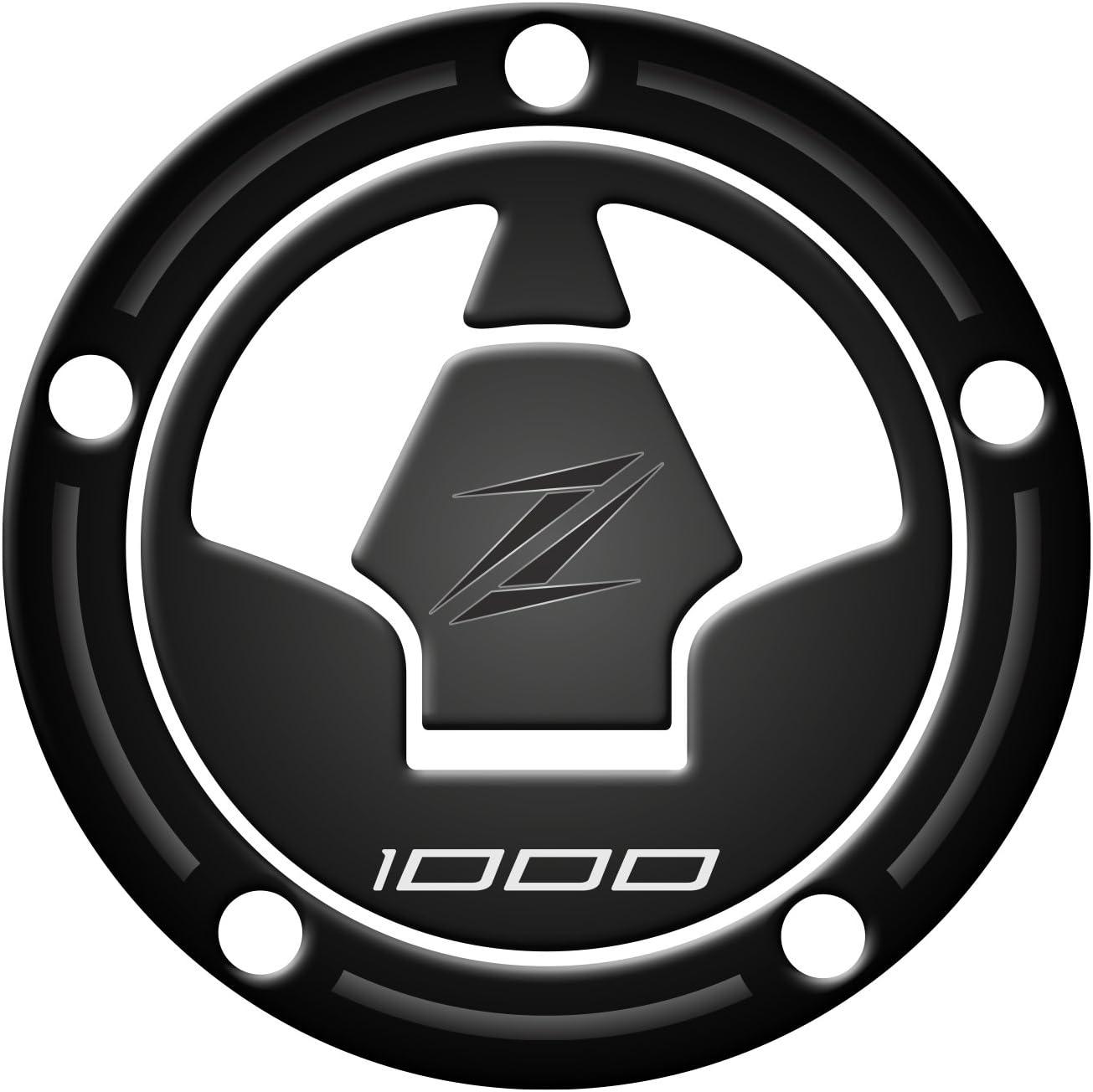Fuel Cap Protector Protection Bouchon Essence R/ésine 3D pour Moto Kawasaki Z1000/2010/ Para Zip Noir /2017/pre-090/